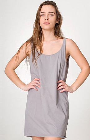 American Apparel Tank Dress