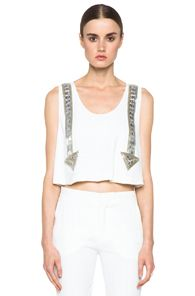 Chloe Arrow Tank