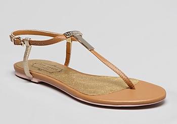 Ted Baker Logo Flat Thong Sandal