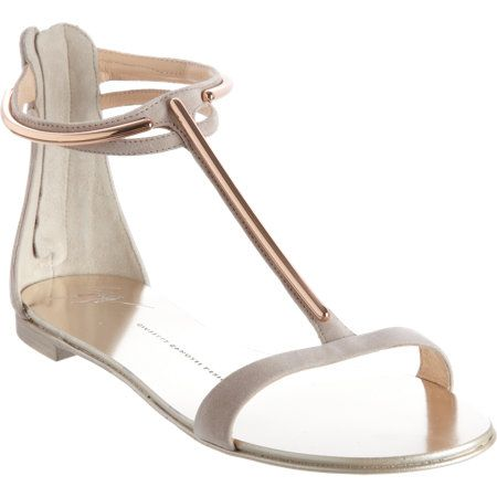 Giuseppe Zanotti Metal T-Strap Sandals