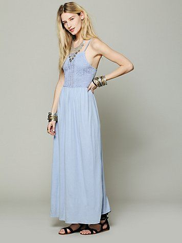 Free People Apron Beach Maxi
