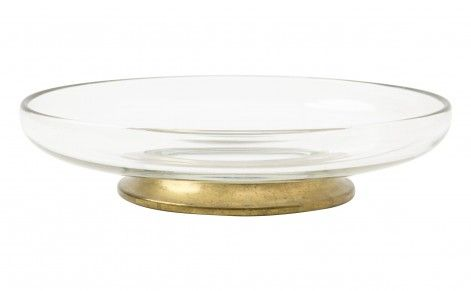 Jason Home  Vintage Brass Footed Bowl