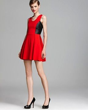 Parker  Olivia Color Block Dress