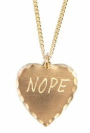 In God We Trust In God We Trust Nope Necklace