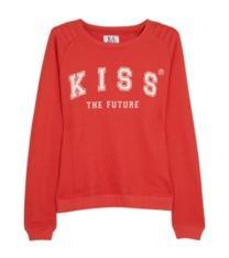 Zoe Karssen Zoe Karssen Kiss The Future Cotton Blend Sweatshirt