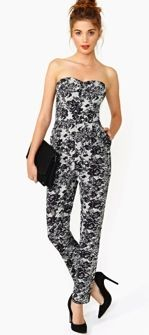 Nasty Gal Nasty Gal Iron Flower Jumpsuit