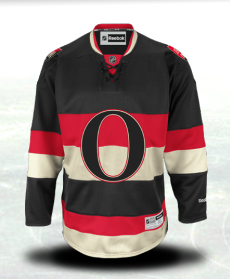 NHL Ottawa Senators Reebok Premier Hockey Jersey