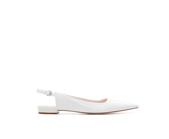 Zara  Pointed Sling-Back