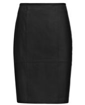 Reiss Reiss Ezra Leather Skirt