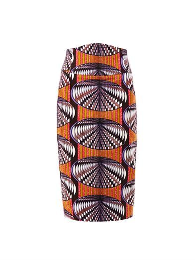 Stella Jean  Dofi-Print Pencil Skirt