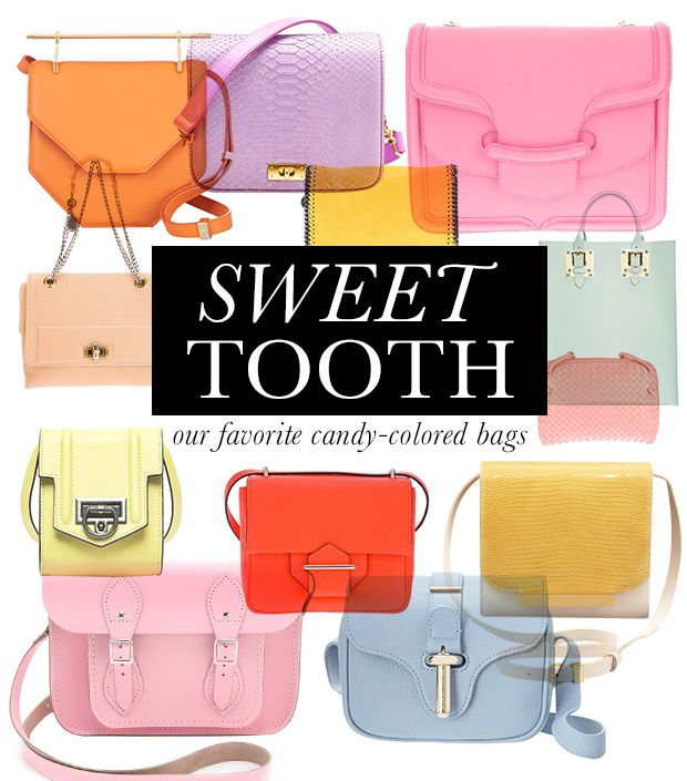 Candy-Colored Bags For Your Fashion Sweet Tooth
