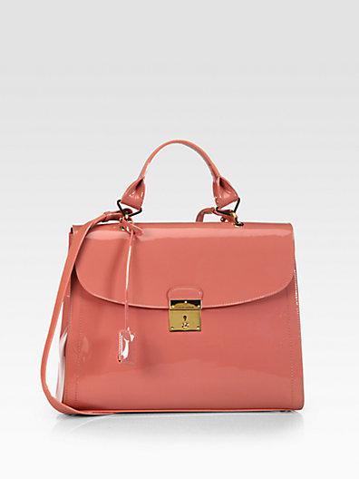Marc Jacobs  1984 Patent Leather Satchel