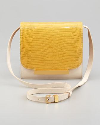 The Row  Classic Lizard Shoulder Bag