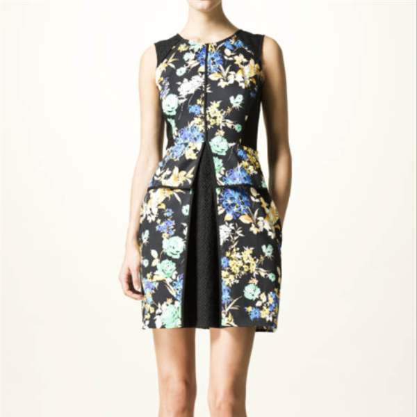 Wallis  Floral Print Jersey Dress