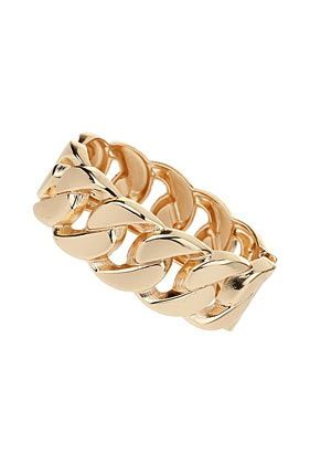 Topshop  Curb Chain Hinged Cuff