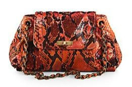 Marc Jacobs  Marc Jacobs Mae Python Shoulder Bag