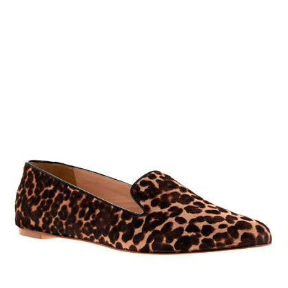 J.Crew  Collection Darby Calf Hair Loafers