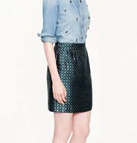 J Crew J Crew Collection Mini Skirt