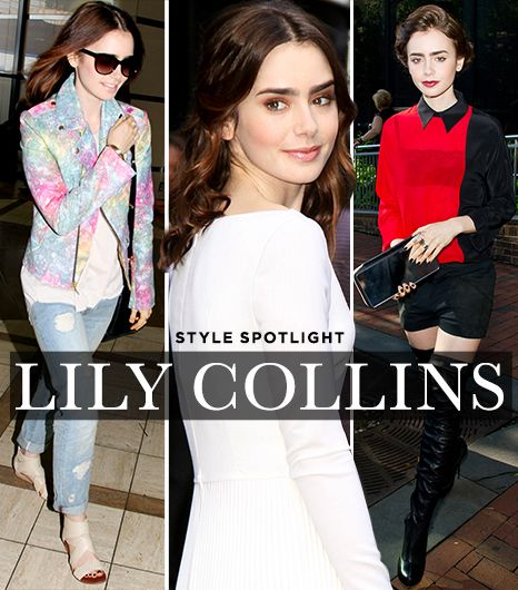Steal The Spotlight With These Lily Collins-Inspired Picks