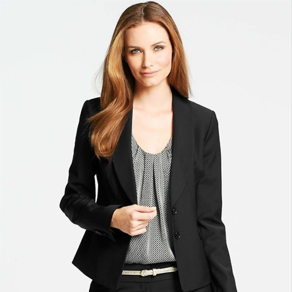 Ann Taylor Toulous Shawl Collar Jacket