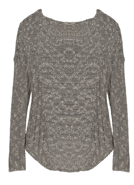 Helmut Lang  Boucle Cotton-Blend Sweater