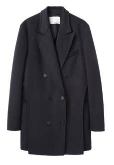 3.1 Phillip Lim  Oversize Layered Peacoat