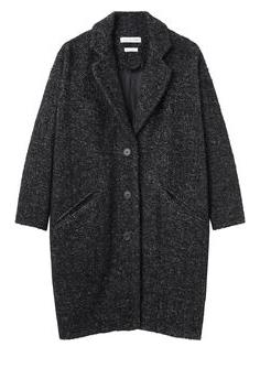 Etoile Isabel Marant  Delphe Herringbone Coat