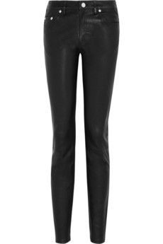 Acne  Skinny Leather Pants
