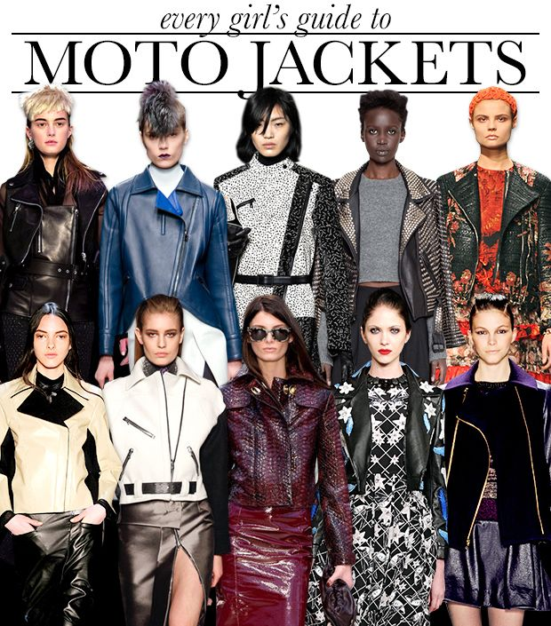 Your Complete Guide To The Season's Best Moto Jackets