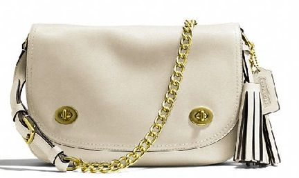 Coach  Coach Legacy Double Gusset Flap Bag