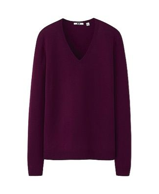 Uniqlo Uniqlo Merino V Neck Sweater