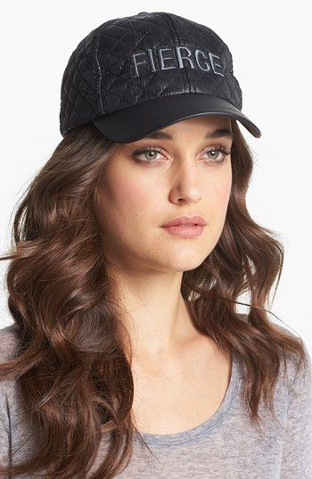BCBGenerataion  Fierce Quilted Baseball Cap