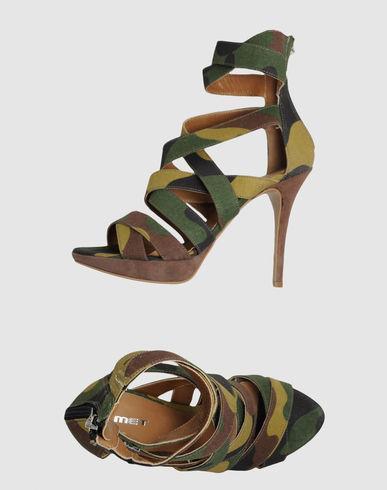 Met  Military Green Sandals