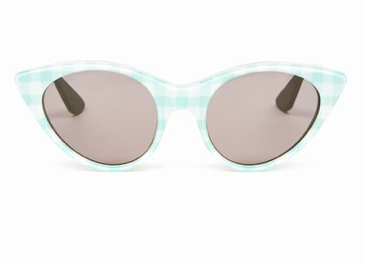 Opening Ceremony  Cat Eye Gingham Sunglasses
