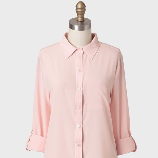Ruche  Sasha Button-Up Blouse