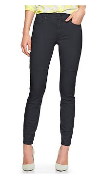 Gap 1969   Coated Biker Legging Jeans