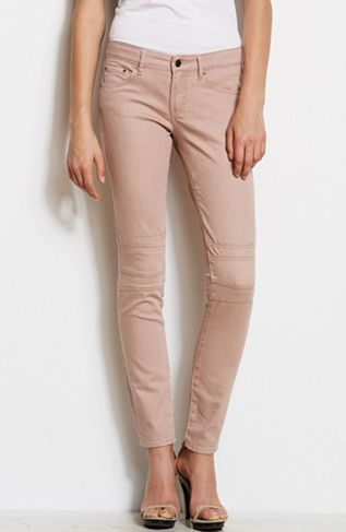 Armani Exchange  J22 Neutral Moto Super Skinny Jeans