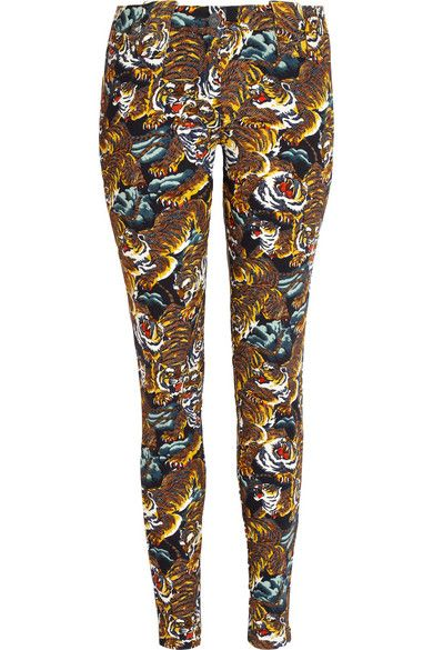 Kenzo  Mid-Rise Skinny Jeans