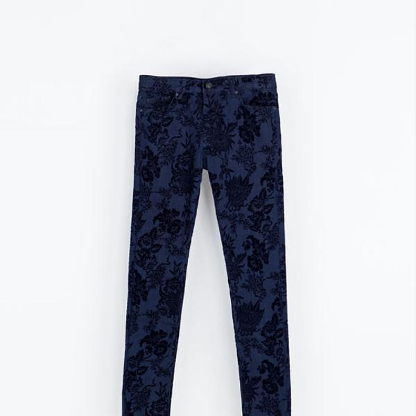Zara  Flock Jeans