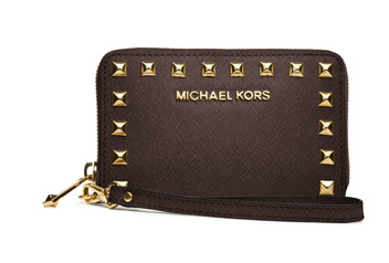 MICHAEL Michael Kors  Selma Studded Multifunction iPhone 5 Case