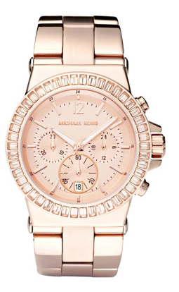Michael Kors  Baguette-Bezel Watch
