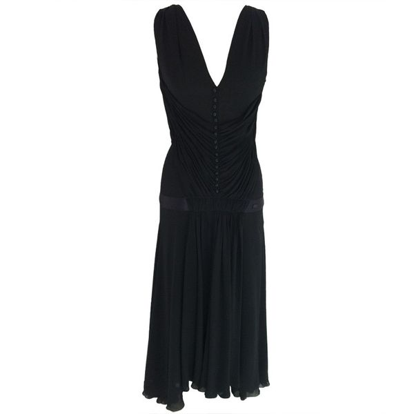 Chanel Vintage Pleated Gown