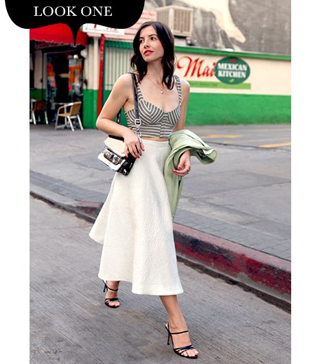 Your Guide To Wearing Midi Skirts The Right Way | WhoWhatWear