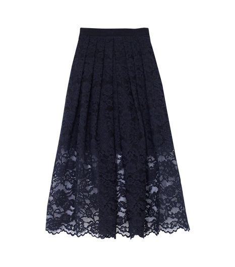 Tibi Lace Full Skirt