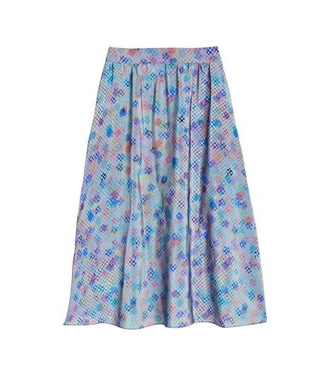Tucker Circle Skirt