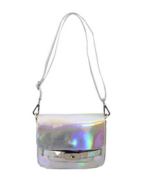 Nila Anthony Holographic Cross Body Bag