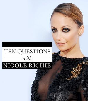 10 Questions With Nicole Richie: Date Outfits, Beauty Tips & More
