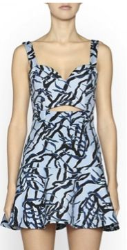 Camilla and Marc  Camilla and Marc Night Flute Print Dress