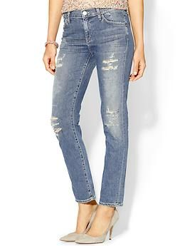 Goldsign  Jenny High Rise Jeans