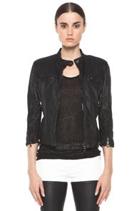 R13  Café Leather Jacket